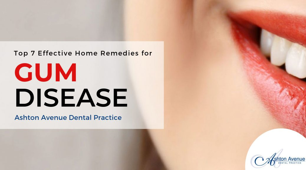 Gum Disease Treatment at Home