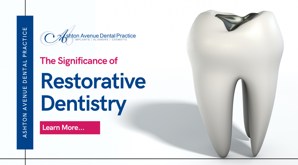 Significance of Restorative Dentistry